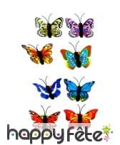 Bague en forme de papillon, fantaisie