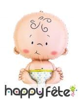 Ballon en forme de bébé rigolo