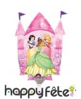 Ballon en forme de château Princesses Disney, 33cm