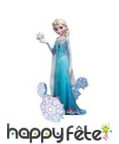 Ballon en forme de Elsa, la reine des neiges