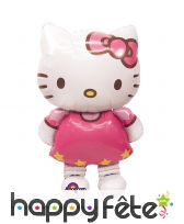 Ballon en forme de Hello Kitty