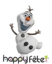 Ballon en forme de Olaf, Reine des neiges