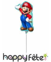 Ballon en forme de Super Mario, 20 X 30 cm