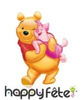 Ballon en forme de Winnie et Porcinet