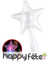 Baguette étoile lumineuse de 45cm