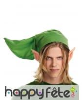 Bonnet et oreilles Zelda pour adulte