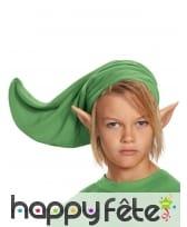Bonnet et oreilles Zelda pour enfant