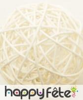 Boules en osier décoratives de 6cm, image 4