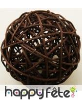 Boules en osier décoratives de 6cm, image 5
