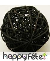 Boules en osier décoratives de 6cm, image 6