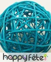 Boules en osier décoratives de 6cm, image 9