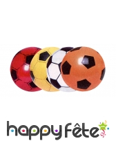 Ballon football à gonfler de 10 cm