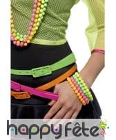 Bracelets fluos assortis