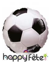 Ballon foot en aluminium, 45cm