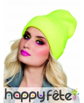 Bonnet flashy fluo uni, image 4