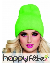 Bonnet flashy fluo uni, image 5