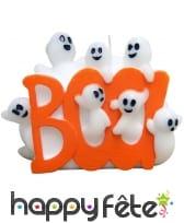 Bougie fantôme haloween Boo de 12 cm