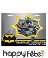 Ballon géant Batman en forme d'étoile, 71 cm, image 1