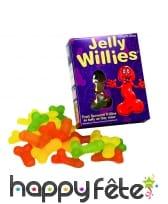 Bonbons gélifiés zizi