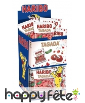 Bonbon haribo en forme de fraises tagada, image 1