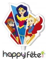 Bougie Hero Girls de 7,5cm