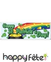Banderole Happy Saint-Patrick's Day