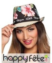 Borsalino Ibiza fleurs d'hibiscus, image 1