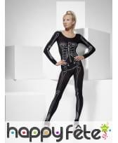 Body imprimé squelette