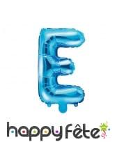 Ballon lettre bleu de 35 cm, image 5