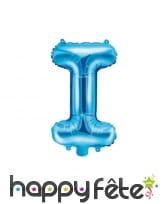 Ballon lettre bleu de 35 cm, image 9