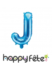Ballon lettre bleu de 35 cm, image 10