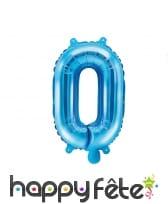 Ballon lettre bleu de 35 cm, image 15