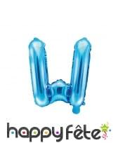 Ballon lettre bleu de 35 cm, image 23