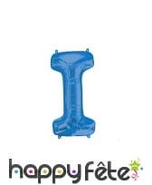 Ballon lettre bleue de 81 cm, image 9