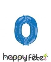 Ballon lettre bleue de 81 cm, image 15