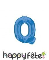 Ballon lettre bleue de 81 cm, image 17