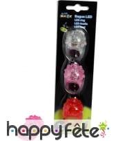Bague LED en plastique mou, image 6