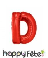 Ballon lettre rouge géante de 102cm, image 4