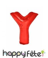 Ballon lettre rouge géante de 102cm, image 26