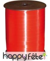 Bolduc lisse rouge