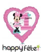 Ballon Minnie 1er Anniversaire