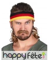 Bandeau Mulet Allemagne avec moustache