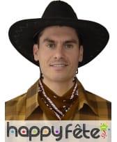 Bandana marron de western