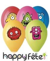 Ballons Monster Friends de 30cm