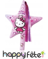 Baguette magique hello kitty gonflable