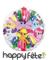 Ballon My Little Pony rond de 43cm