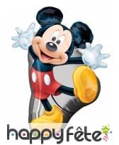 Ballon Mickey Mouse party, 55 x 78 cm