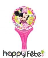 Ballon Minnie Mouse de 15 x 30cm