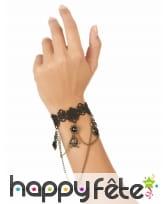 Bijou main noir avec dentelle, image 1