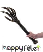 Bâton main squelette de 66cm